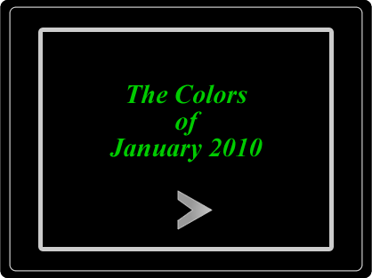 The Colors of January 2010 Slideshow