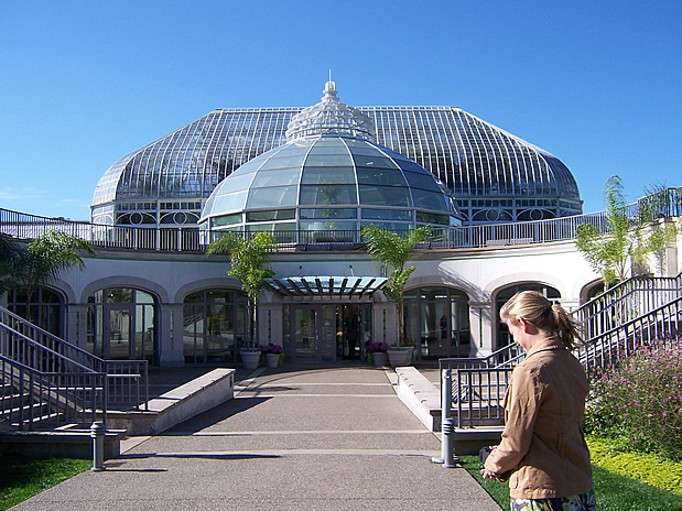 Main entrance to Phipps