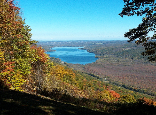 Honeoye Lake overlook